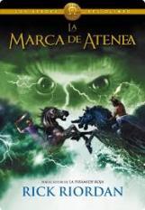"""La marca de Atenea"" de Rick Riordan"