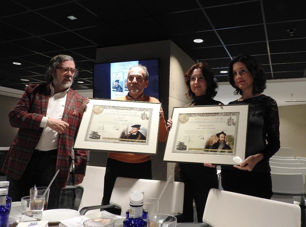 Se presentan las obras ganadoras del XIII Premio Algaba de Biografía, Autobiografía, Memorias e Investigaciones Históricas