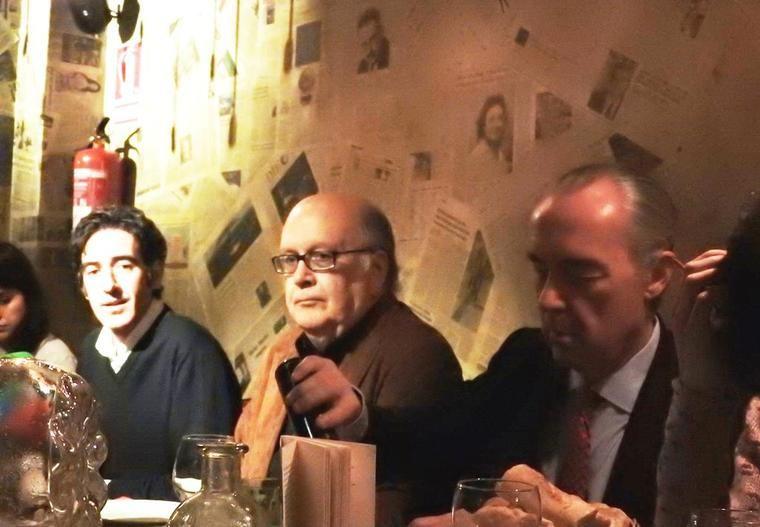 Ignacio Garmendía, Álvaro Salvador y Luis Alberto de Cuenca