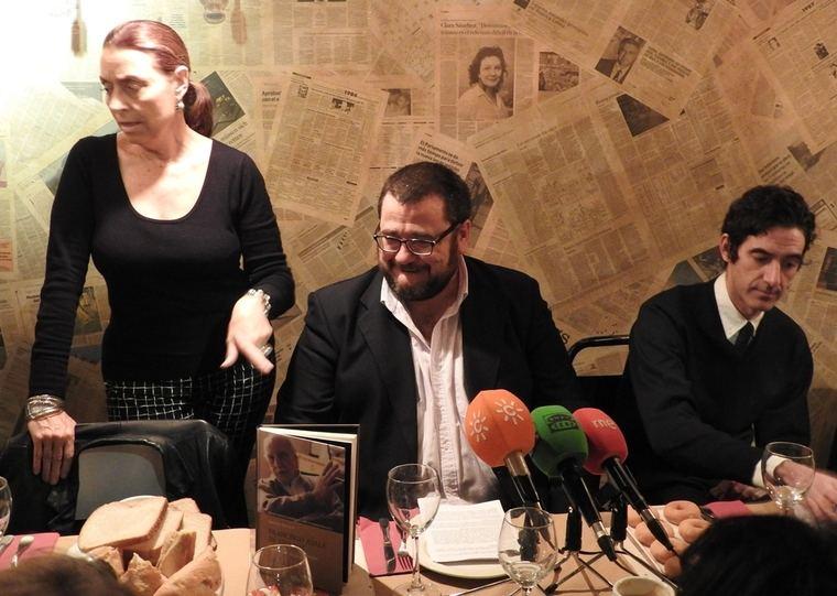 Ana Gavín, Antonio Astorga e Ignacio F. Garmendía