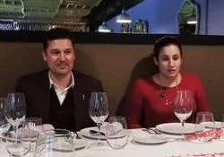 Edmundo D�az Conde y Jimina Sabad�