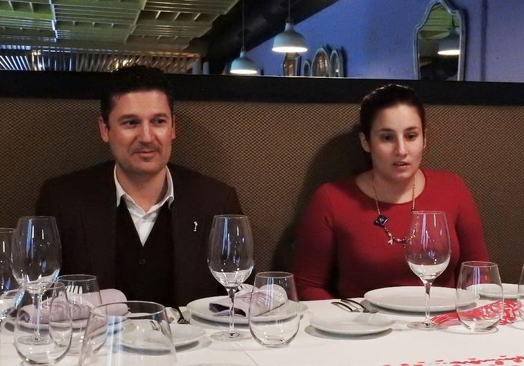 Edmundo Díaz Conde y Jimina Sabadú