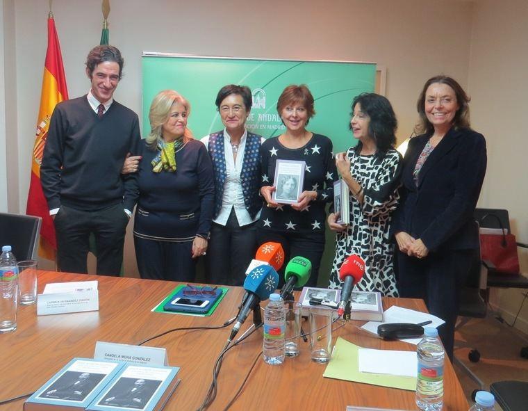 Ignacio Garmendia;  Carmen Hernández Pinzón; Candela Mora González; Emilia Cortés; Mercedes de Pablos Candón y Ana Gavín