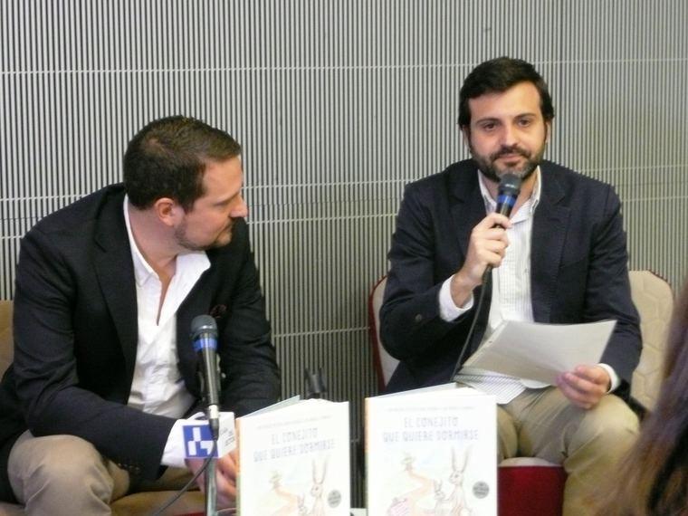 Carl-Johan Forssén Ehrlin y Alfonso Monteserín