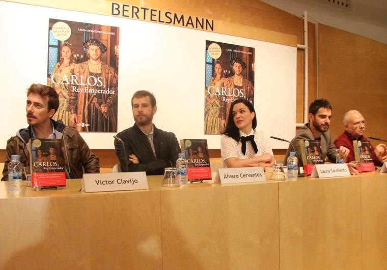 Víctor Clavijo, Álvaro Cervantes, Laura Sarmiento, Alfonso Bassave y Nicolás Romero