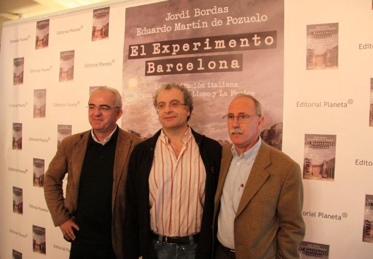 Eduardo Martín de Pozuelo, José María Calleja y Jordi Bordas