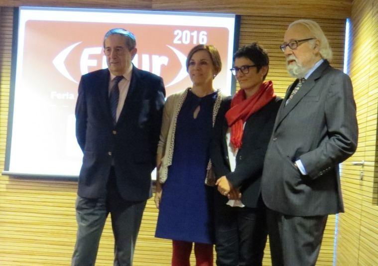 De izquierda a derecha, Fermín Lucas, Ana Larrañaga, Susana Ibáñez y Luis Eduardo Cortes