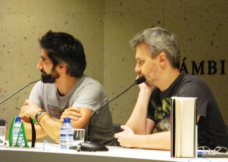 Manel Loureiro y Juan Gómez-Jurado