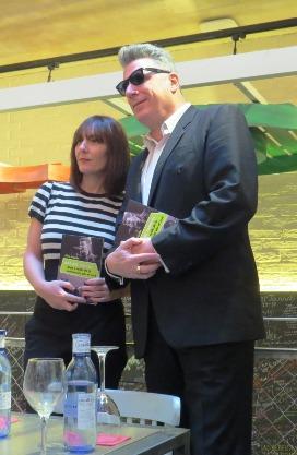 """Silvia Grijalba y """"Loquillo"""", con el libro """"Más que famosos. Auge y caída de la fascinación por el rock"""""""