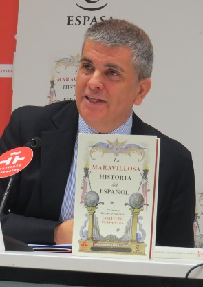 "Francisco Moreno, autor de ""La maravillosa historia del español"""
