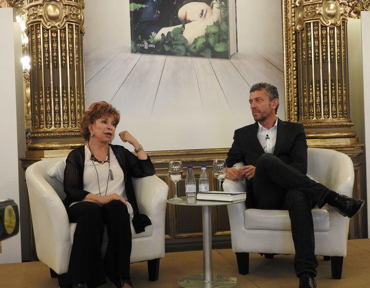 Isabel Allende y David Trías
