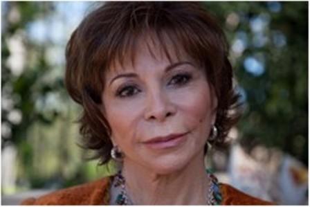 Isabel Allende de visita en España para presentar