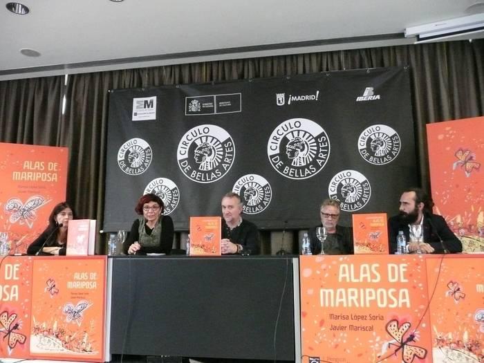 Marisa López Soria, Fernando (padre de Nadia), Javier Mariscal y Jorge Martínez