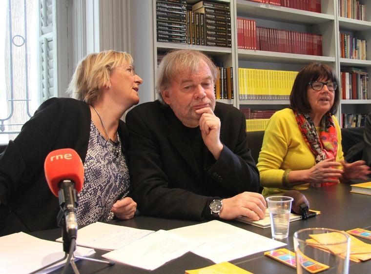 Jostein Gaarder y Michi Strausfeld