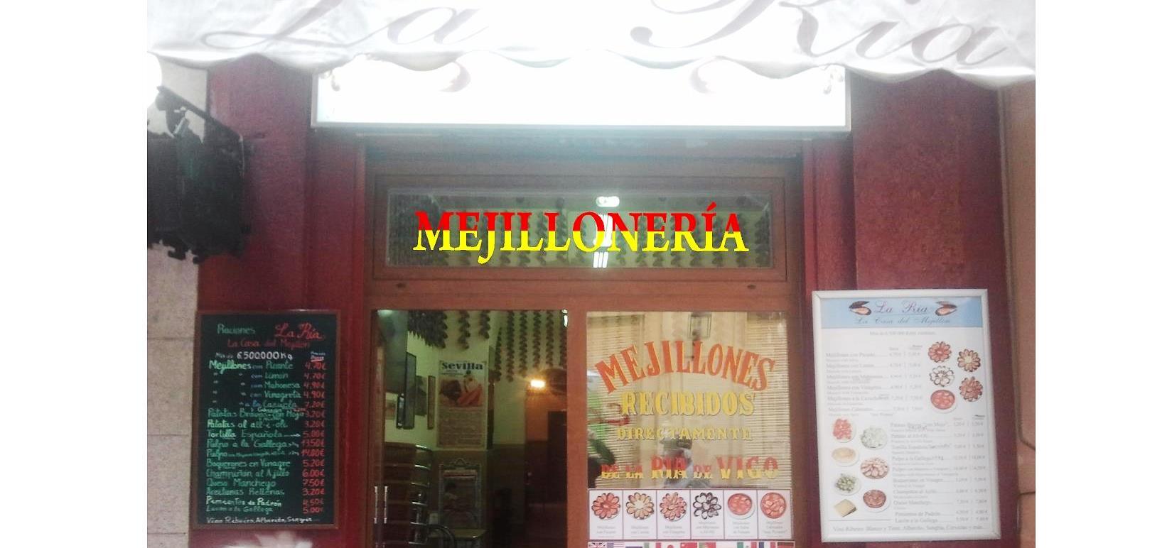 """En """"La Ría"""", """"La Casa del Mejillón"""" de Madrid, situada en el Pasaje Matheu"""