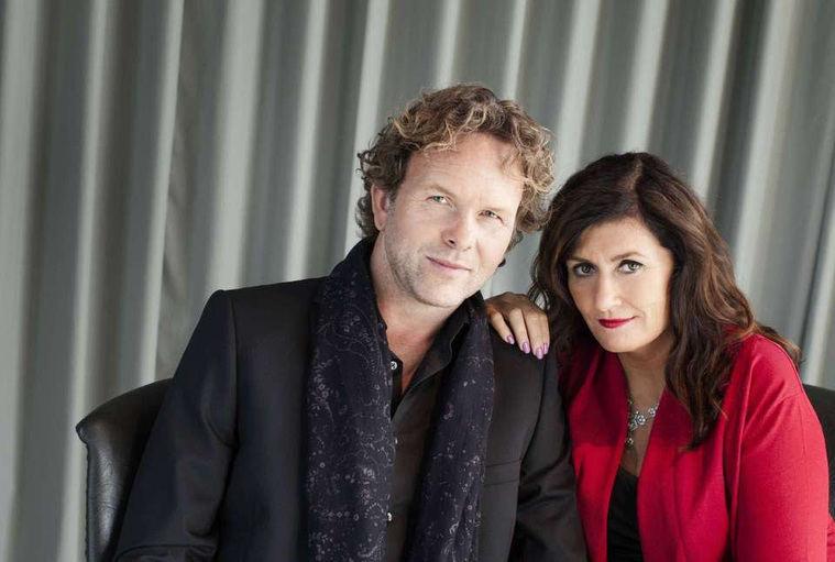 Ruben Eliassen y Mari Jungstedt