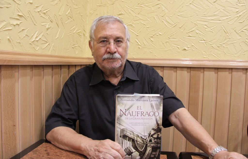 """Entrevista a Fernando Martínez Laínez, autor de """"El náufrago de la Gran Armada"""""""