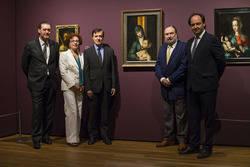 Miguel Zugaza, Leticia Ruiz,  Rafael Pardo, Javier Viar y Josep Serra