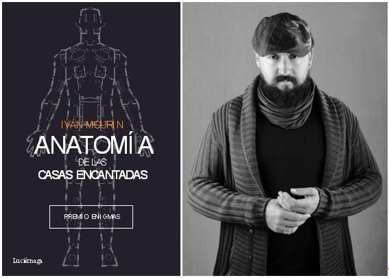 """Iván Mourin recibe el I Premio Enigmas con la obra """"Anatomía de las casas encantadas"""""""