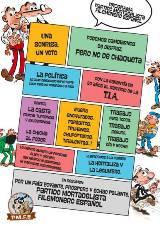 ¡Mortadelo y Filemón por fin se presentan a las Elecciones 2015!