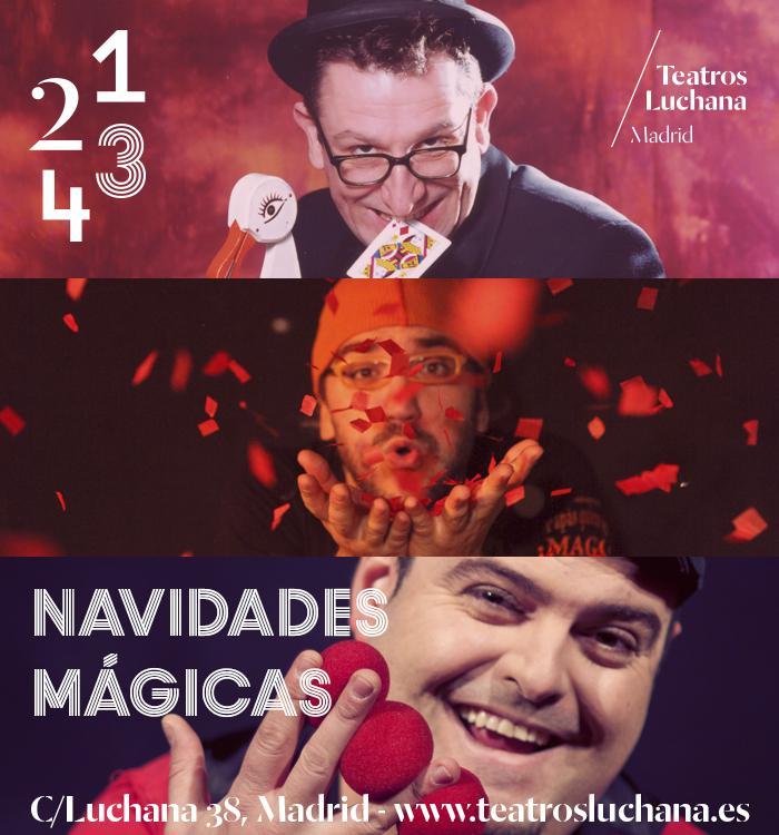 ¿Planes navideños?: Diciembre mágico en Teatros Luchana