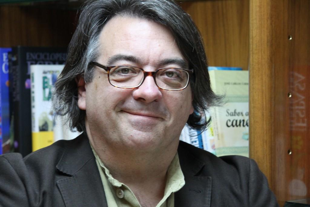 Jesús Ruiz Mantilla, ganador del XVII Premio Unicaja de Novela