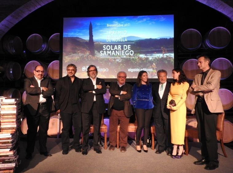 Ganador y jurado del I Premio de Novela Solar de Samaniego