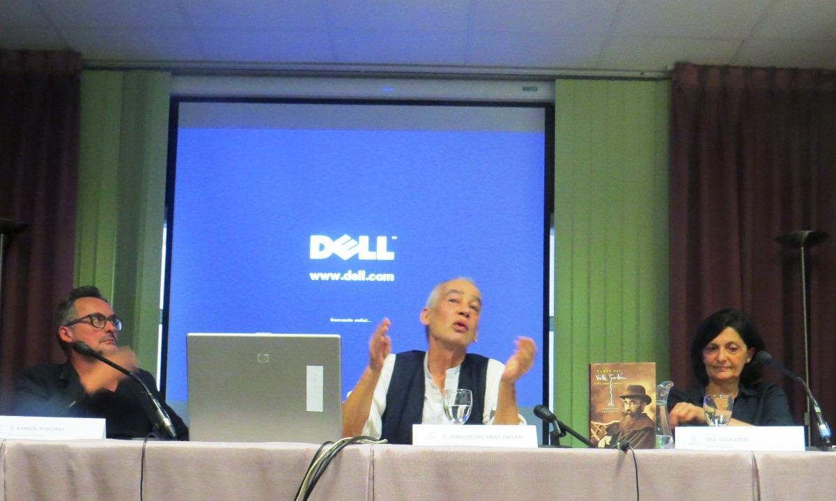 """Presentación del libro """"Ramón del Valle- Inclán. Genial, antiguo y moderno"""", escrito por su nieto Joaquín del Valle- Inclán"""