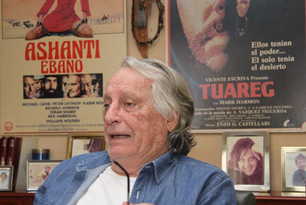 Alberto Vázquez-Figueroa y Carmen Conde, Premio de Honor y Premio La Trama en Aragón Negro
