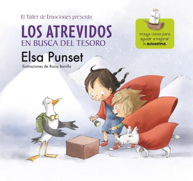 La editorial Beascoa emprende la publicación de la colección de cuentos Taller de emociones de la mano de Elsa Punset