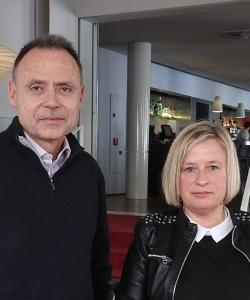 Antonio Garrido y Nieves Abarca