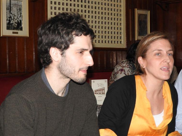 Álvaro Arbina y Lucía Luengo