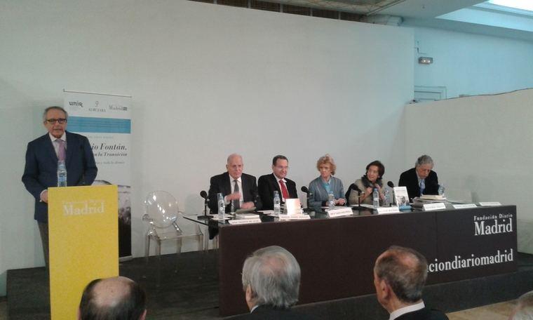Presentación del libro 'Antonio Fontán, un liberal en la Transición: periodismo, latín y todo lo demás'