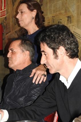 Ana Gavín, Juan Cobos Wilkins e Ignacio Garmendía