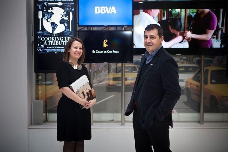 María Canabal y Josep Roca