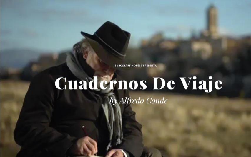 El Premio Nacional de Literatura, Alfredo Conde, protagoniza el tercer Eurostars Travel Rooms