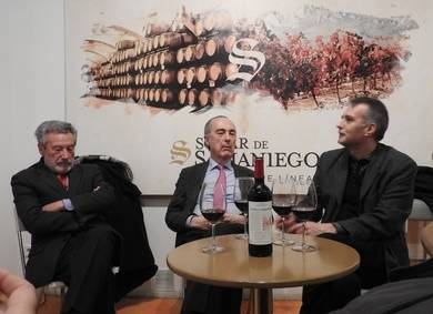 Luis del Val, Luis Alberto de Cuenca y Miguel Ángel Matallanas