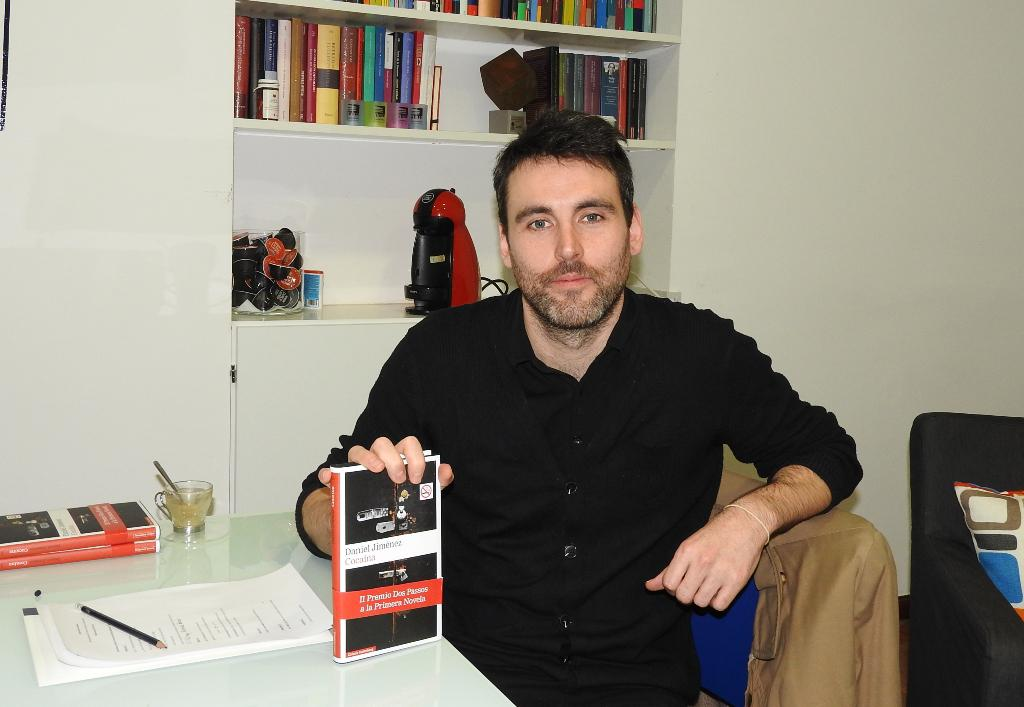 "Entrevista a Daniel Jiménez, autor de ""Cocaína"""