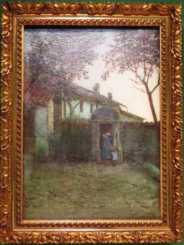 Alba (Amanecer), c. 1891. Angelo Morbelli