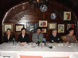 Mercedes Monmany, Montserrat L�pez Moro, Miguel �ngel Gonz�lez, Jos� Mar�a Guelbenzu y Ofelia Grande