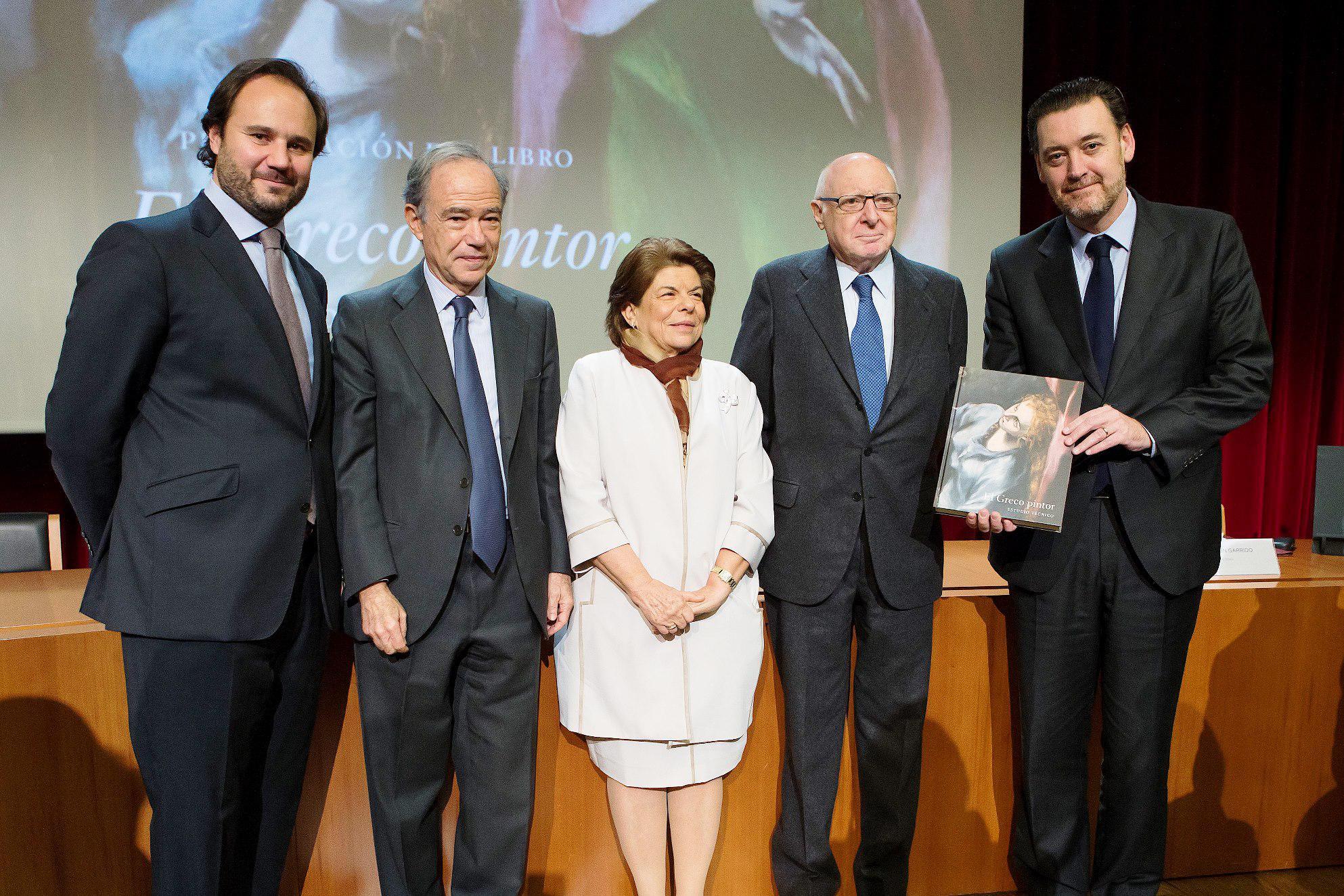 """Presentación del libro """"El Greco pintor. Estudio técnico"""", de Carmen Garrido"""