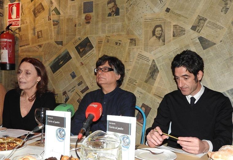 Ana Gavín, Jesús Aguado e Ignacio Garmendía