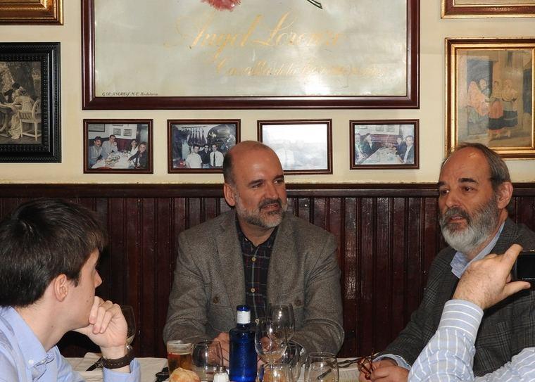 José Manuel Lucía Megías y Melquiades Prieto