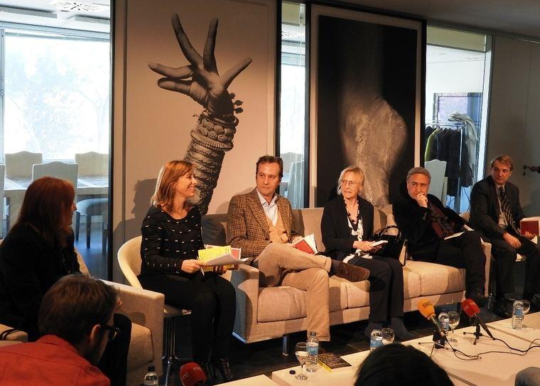 Heila Cremaschi, Marcos Giralt Torrent, Soledad Puértolas, Vicente Molina Foix y Joan Tarrida.