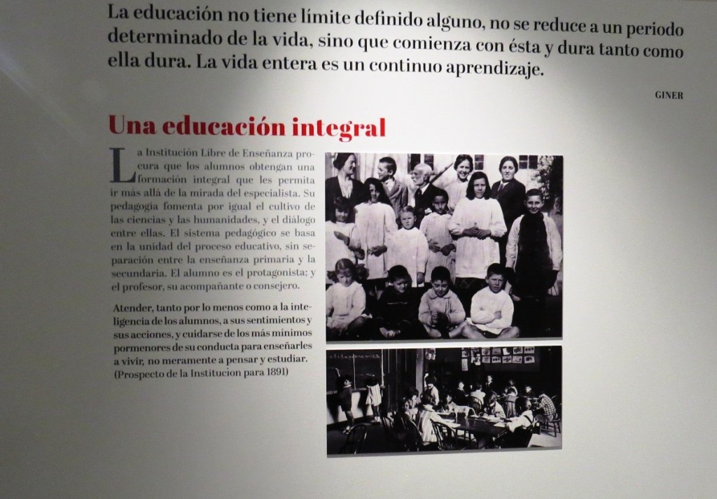 """Presentación de la exposición: """"El maestro de la España moderna. Francisco Giner de los Ríos y la Institución Libre de Enseñanza"""""""