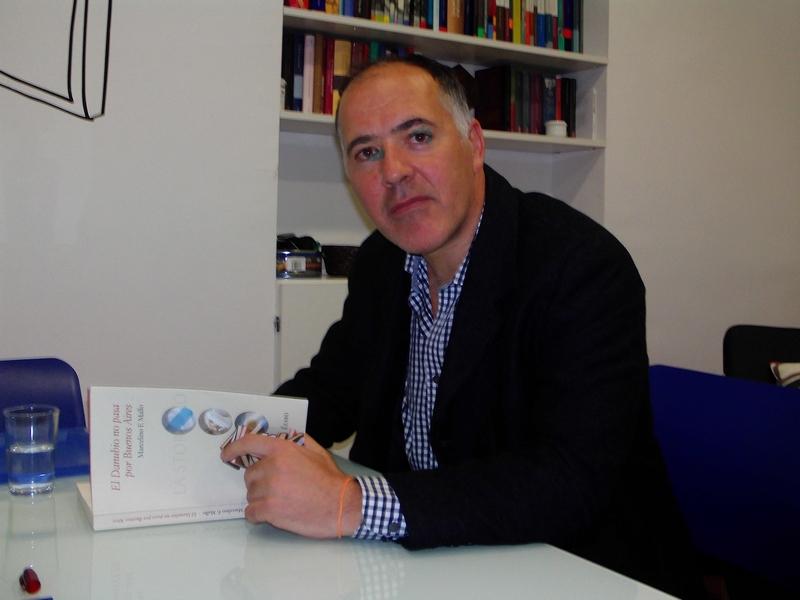 """Entrevista a Marcelino F. Mallo, autor de """"El Danubio no pasa por Buenos Aires"""""""