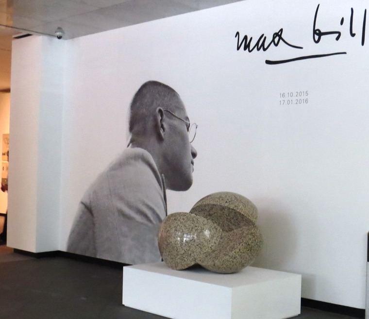 """Exposición """"Max Bill"""", en la sede de la Fundación Juan March de Madrid"""
