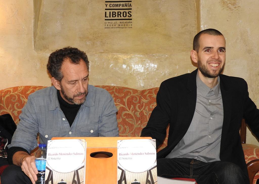 Ricardo Menéndez Salmón presenta la obra ganadora del Premio Biblioteca Breve 2016