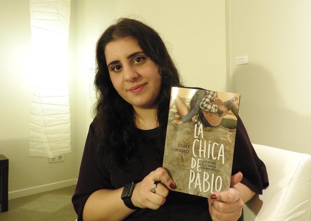 """Entrevista a Naiara Domínguez"""", autora de """"La chica de Pablo"""""""