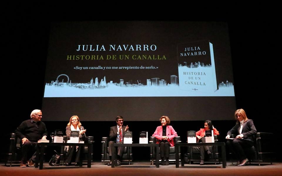 "Presentación de la novela ""Historia de un canalla"", de Julia Navarro"